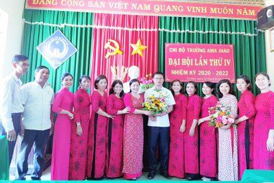 Đại hội Chi bộ Ama Jhao Nhiệm kì 2020 – 2022