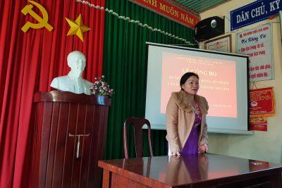 Công bố Quyết định điều động, bổ nhiệm cán bộ quản lý trường tiểu học Ama Jhao